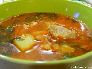 Фасолевый-суп-со-свининой.