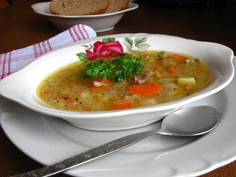 Суп из свинины с овощами рецепты