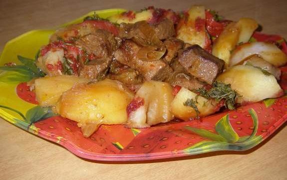 Оджахури рецепт с фото в духовке