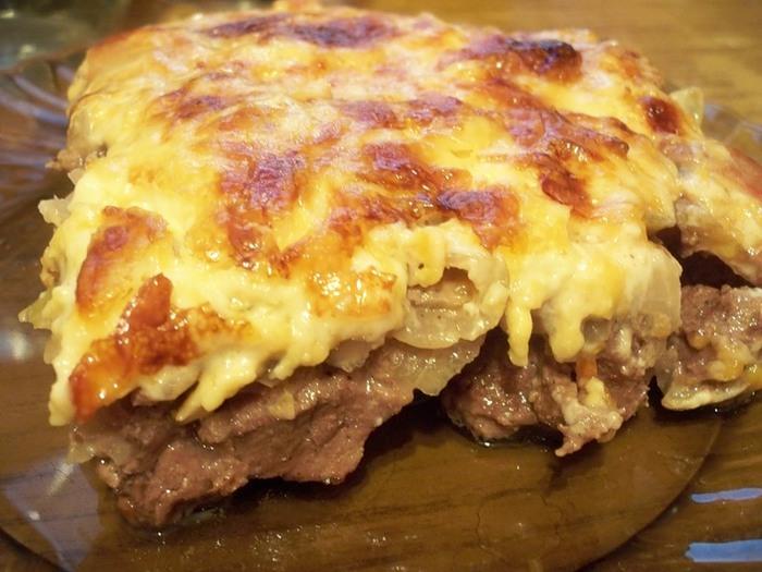 Блюда из говядины с картошкой в духовке рецепт