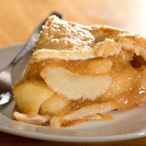Яблочный десерт с кальвадосом